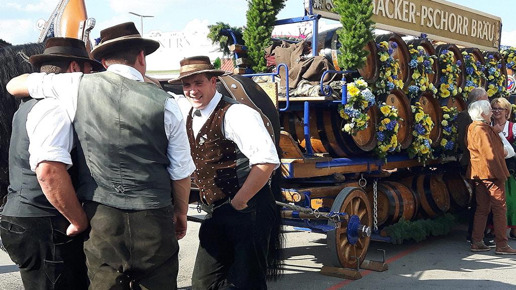 Kutsche auf dem Oktoberfest
